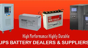 Buy the best range of products from the Top UPS Battery Dealers